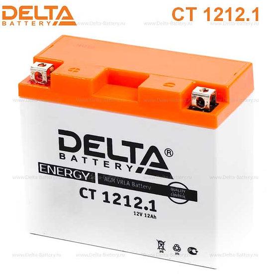 Аккумуляторная батарея Delta CT 1212.1 (12V / 12Ah)