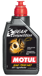 масло Motul GEAR COMPETITION 75W140
