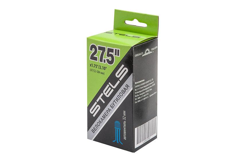 "Велокамера STELS 27.5"" 1.75/2.10 автовентиль"