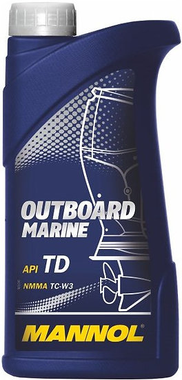 Масло Mannol Outboard Marine