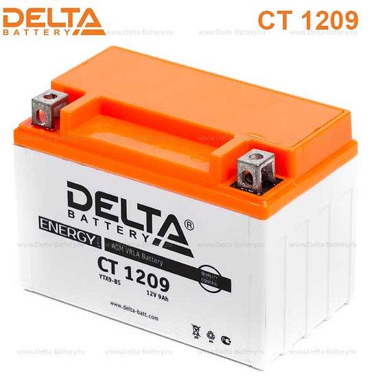 Аккумуляторная батарея Delta CT 1209 (12V / 9Ah)