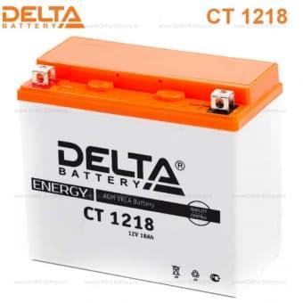 Аккумулятор Delta CT 1218 (12V / 18Ah)