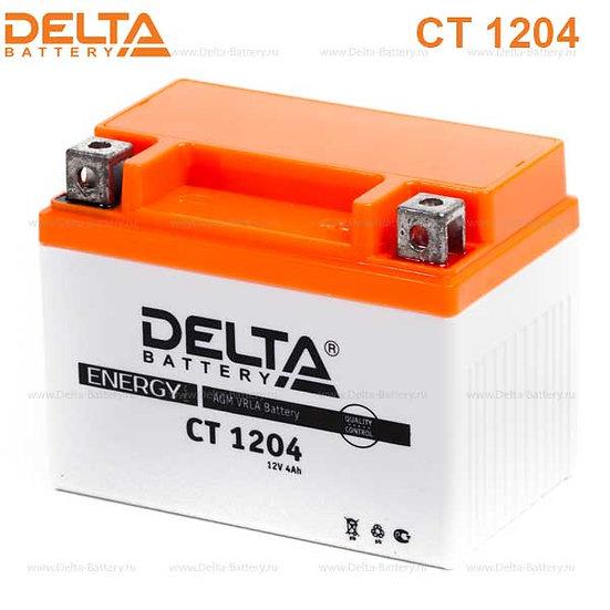 Аккумуляторная батарея Delta CT 1204 (12V / 4Ah)