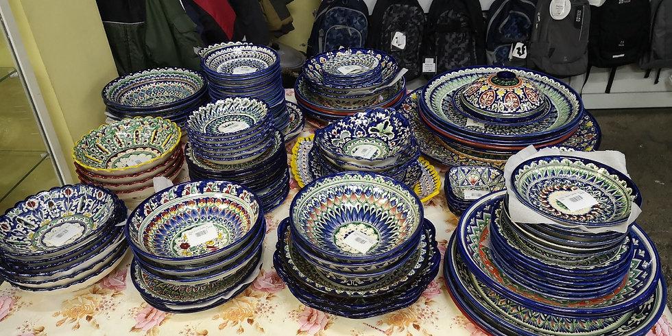 Посуда узбекская в ассортименте