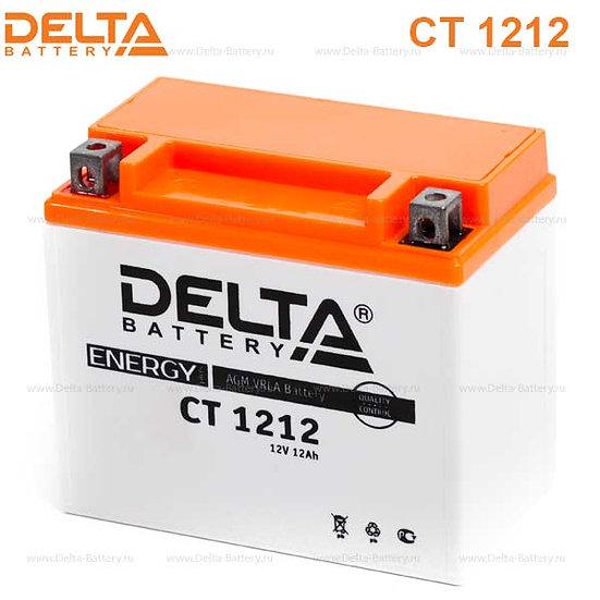 Аккумуляторная батарея Delta CT 1212 (12V / 12Ah)