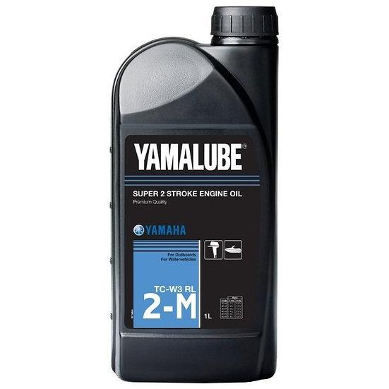 Масло Yamalube 2-M, 2-тактное минеральное для ПЛМ