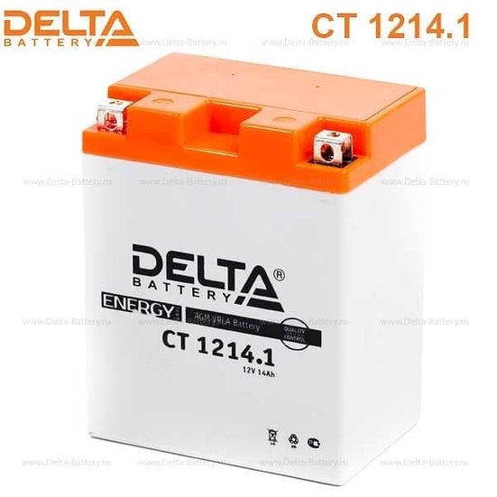 Аккумулятор Delta CT 1214.1 (12V / 14Ah)
