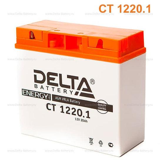 Аккумулятор Delta CT 1220.1 (12V / 20Ah)