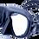 Thumbnail: Маска SARGAN Сейм черная рамка черный силикон, с носовым клапаном