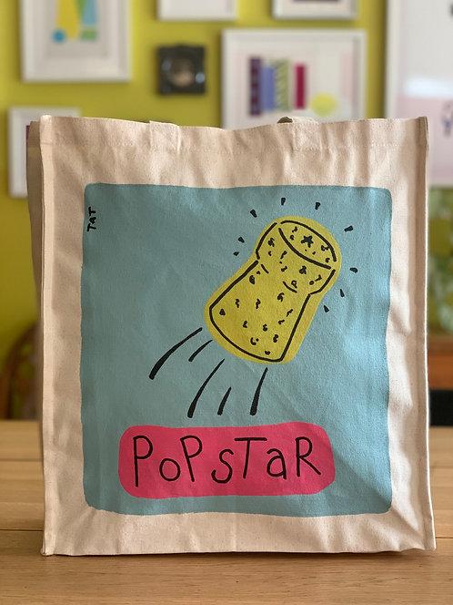Pop Star Canvas Bag