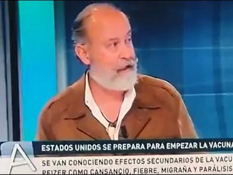 VACUNA PFIZER - FERNANDO LÓPEZ MIRONES EN TV