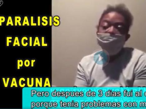 URGENTE! ENFERMERA CON PARÁLISIS FACIAL POR VACUNA PFIZER - TESTIMONIO