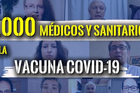 """100.000 MÉDICOS Y PROFESIONALES SANITARIOS SE UNEN CONTRA LAS """"VACUNAS"""" COVID19"""