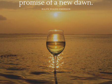 10 motivational quotes with wine views to cheers to the new year!