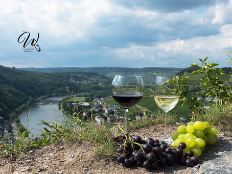Top Wine Glass Views of Germany's Mosel Wine Valley