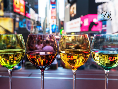 5 Photographs Relating NYC to Wine