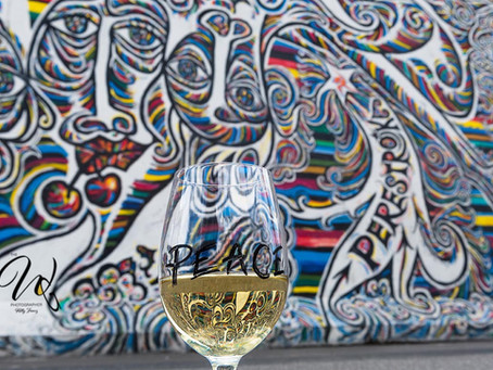 5 Berlin Wall Views Through the Wine Glass