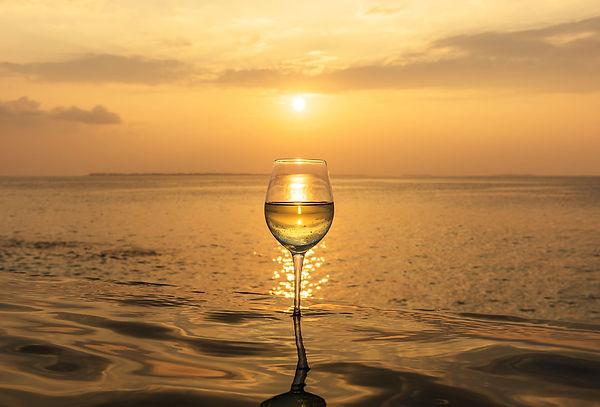 The Wine Glass Photographer Wine Sunset