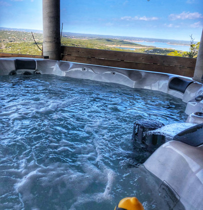 Hot Tub with Lake View