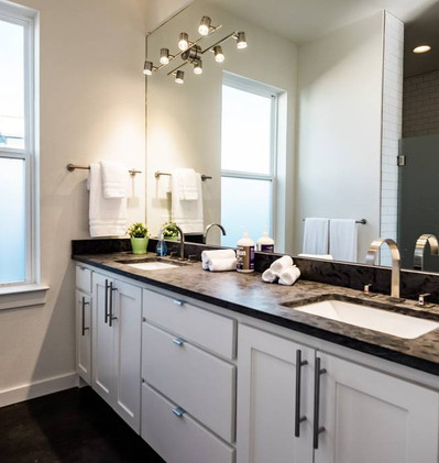 Shared Full Bath with Walk-in Shower