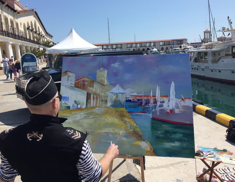 Искусство на SOCHI Yacht Show