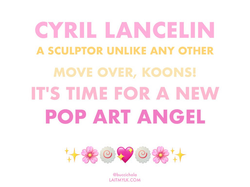 There's a New Koons in Town 🤑💦🎨🌝🌸✨🦋💐🍄😈