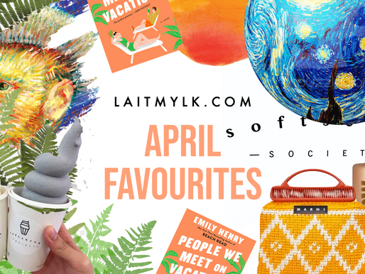 April Favourites with Laitmylk