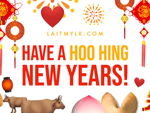 Have a Hoo Hing New Years! 🌟 🧧🐂