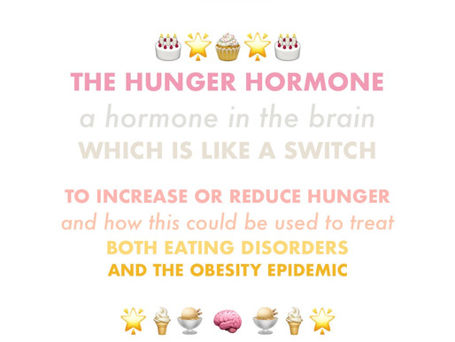 The Hunger Hormone 🍰🍪🍩🍯