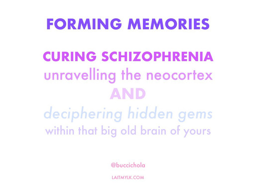Unravelling The Hidden Gems of Schizophrenia and Memory...
