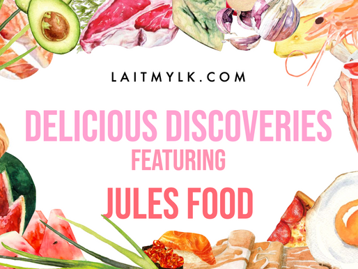 Delicious Discoveries with... Jules Food