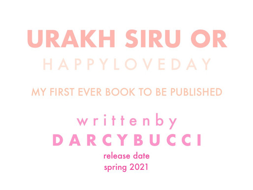 Urakh Siru Or: The First Ever Book Published by Darcy Bucci