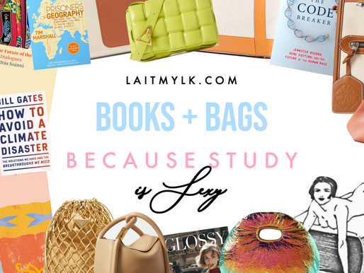 Books and Bags... Because Study is Sexy