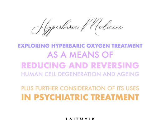 Oxygen Therapy for Treatment of Depression and Schizophrenia