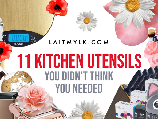 11 Kitchen Utensils You Didn't Think You Needed...