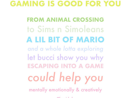 Gaming is Good for You