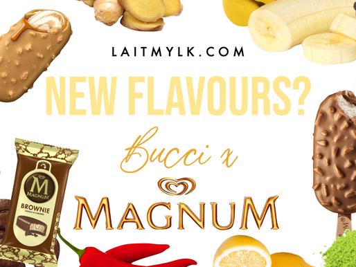 Magnum Ice Cream by Bucci