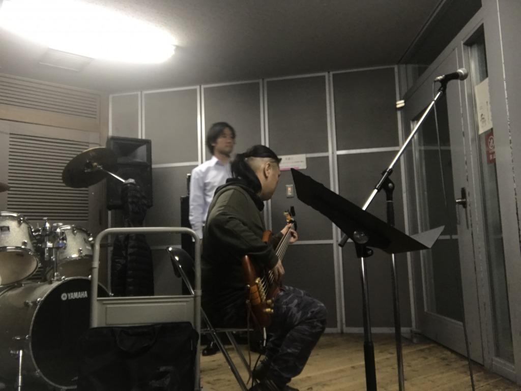 Yuu Bass Recording