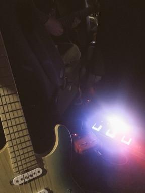 音楽制作 in car