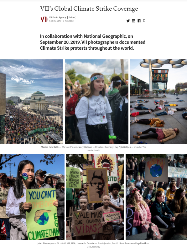 VII's Global Climate Strike Coverage