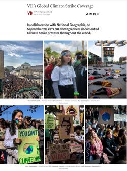 VII's Global Climate Strike Coverage