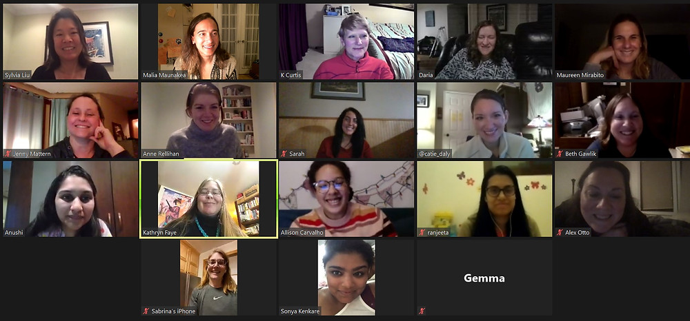 Zoom Chat with #MGwaves and author Sylvia Liu