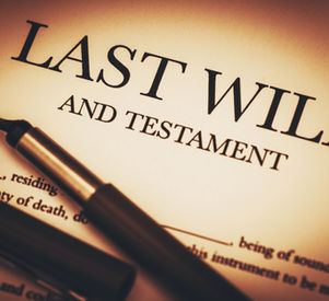Last Will and Testament Document Ready t