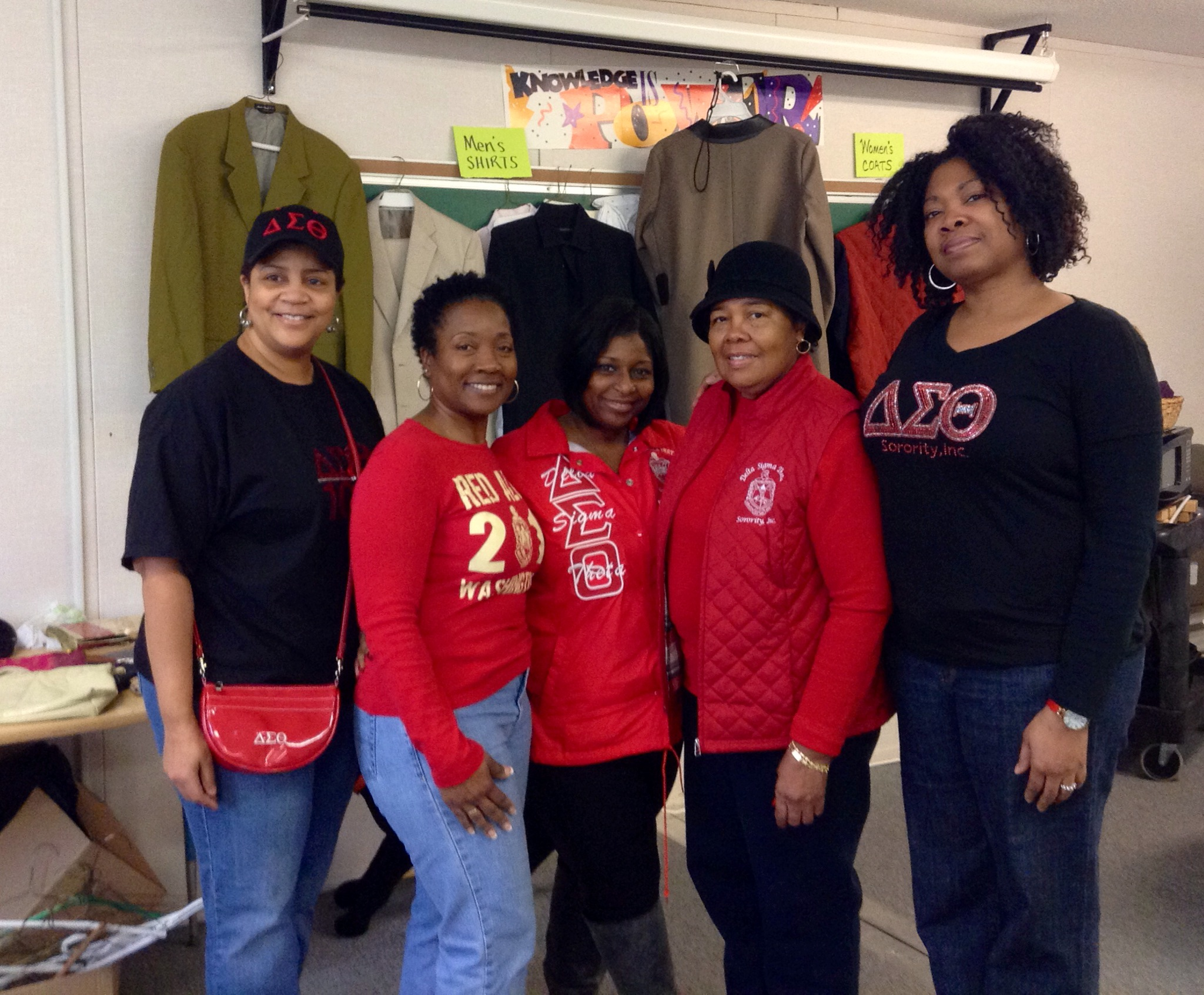 FCAC clothing drive at Hillcrest Elementary