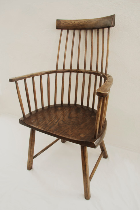 Comb Back Elbow Chair Welsh Style