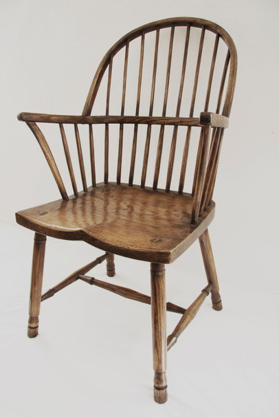 Bow Back Elbow Chair West Country Style