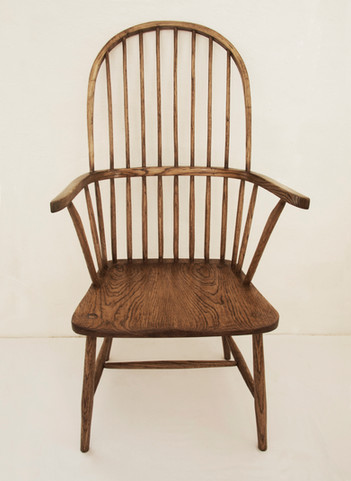 High Back Elbow Chair - West Country Style