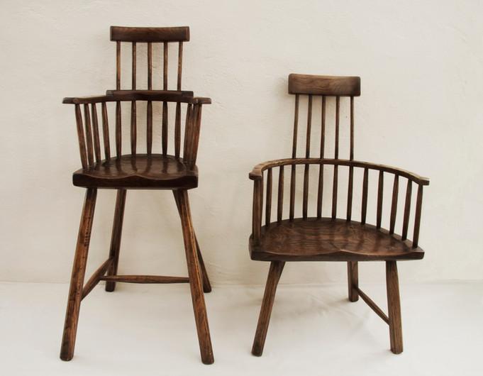 High Chair & Childs Chair