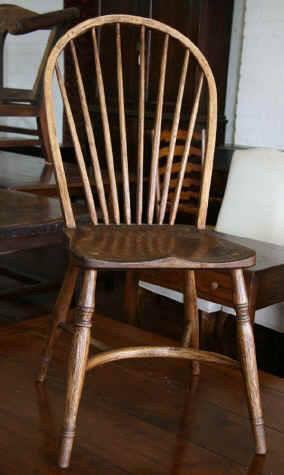 Crinolene Bow Back Dining Chair