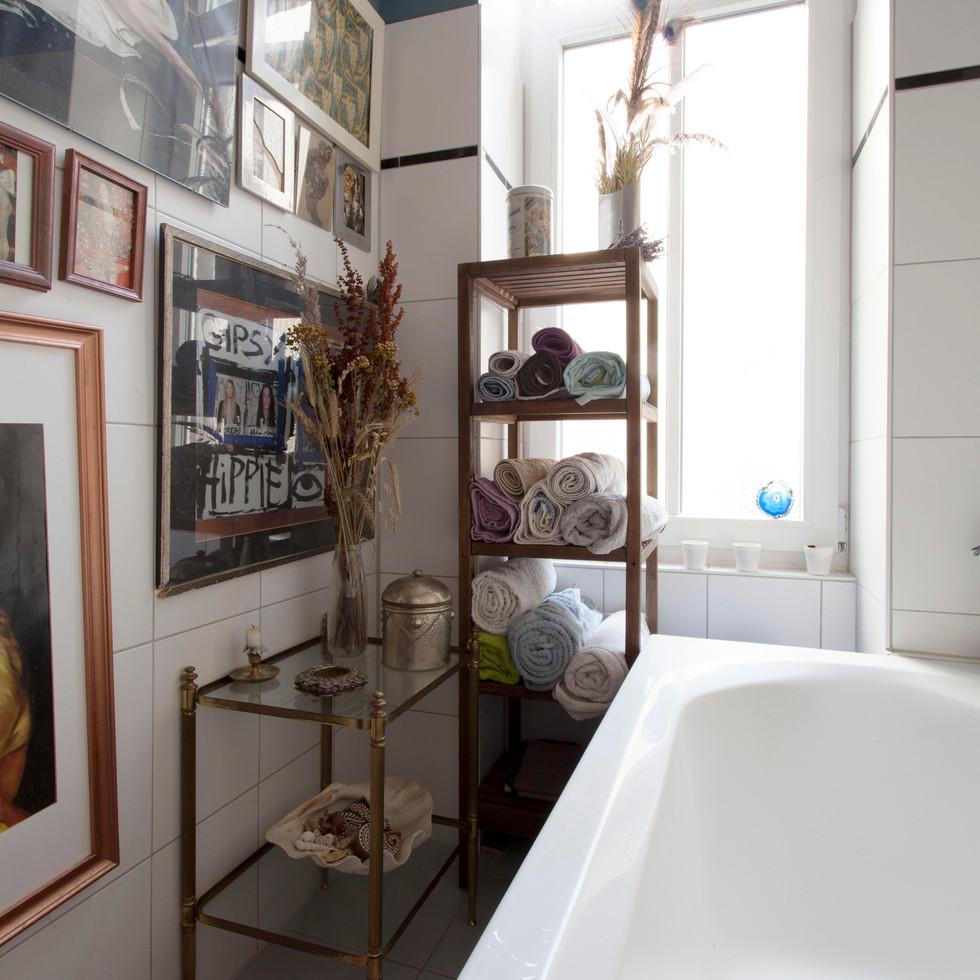 The bathtube